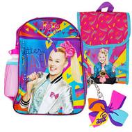 Backpack Jojo Siwa Glitter Please 5-Piece Combo Set 36060