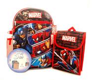 Backpack Marvel Universe 5-Piece Combo Set 43699