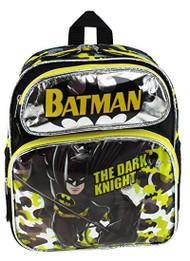 "Small Backpack Batman The Dark Knight Black 12"" 211275"