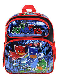 "Small Backpack PJ Masks Hero Rules Blue 12"" 211152"