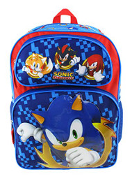 "Backpack Sonic the Hedgehog Sonic Power 16"" 211077"