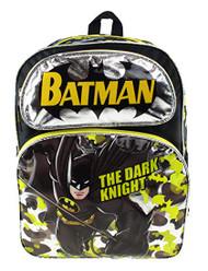 "Backpack Batman The Dark Knight Black 16"" 211251"