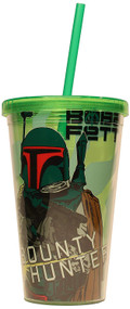 Cold Cup Star Wars Boba Fett w/Lid & Straw Green 37844