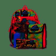 Backpack Jurassic World 5-Piece Combo Set 42867