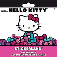 Mini Stickerland Pad 6 page Hello Kitty Sanrio 085477