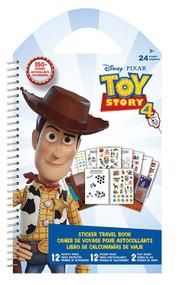 Sticker Travel Book Disney Toy Story 4 082193