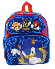 """Small Backpack Sonic the Hedgehog Sonic Power 12"""" 211091"""