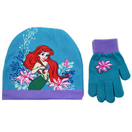 Beanie Cap The Little Mermaid Ariel w/Glove Set 701464