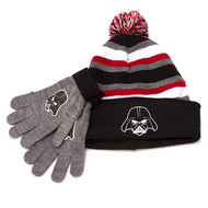 Beanie Cap Star Wars Darth Vader Black/Grey w/Glove 701495