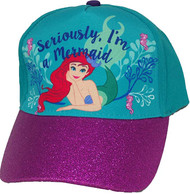 Baseball Cap The Little Mermaid I'm a Mermaid Kids/Youth 692830
