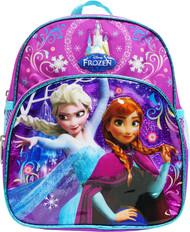 "Mini Backpack Frozen 2 Elsa Anna Puprle 10"" 003780"