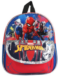 "Mini Backpack Marvel Spiderman Blue/Red 10"" 004781"