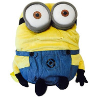 "Plush Backpack Despicable Me 2 Two Eye Minion 14"" 092621"