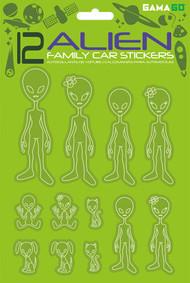 Car Stickers Gamago Alien SF1956