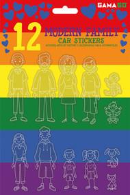 Car Stickers Gamago Modern Family SF1957