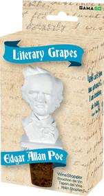 Wine Stopper Gamago Literary Grapes Poe SF1817