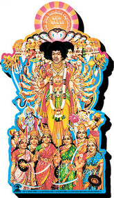 Magnet Jimi Hendrix Axis Funky Chunky 95723