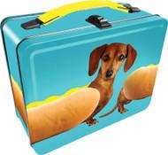 Lunch Box Wonderful Wieners Metal Tin Case 48238
