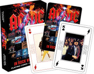 Playing Cards AC/DC In Rock We Trust Poker Games 52627