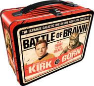 Lunch Box Star Trek Kirk vs Gorn Gen Metal Tin Case 48223