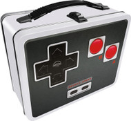 Lunch Box Old School Controller Metal Tin Case 48237