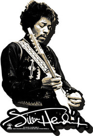 Magnet Jimi Hendrix BW Funky Chunky 95724