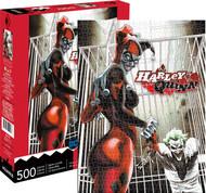 Puzzle DC Comics Harley Quinn & Joker 500pc 62146