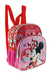 Small Backpack Disney Minnie Mouse Red Bufferfly/Flowers 147213