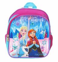 "Mini Backpack Frozen Elsa Anna w/Olaf 10"" 002954"