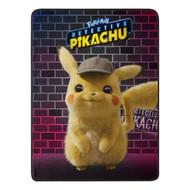 "Super Soft Throws Pokemon Pikachu Detective 45x60"" 185927"