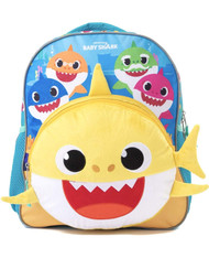 "Small Backpack Pink Fong 3D Baby Shark 12"" 209449"