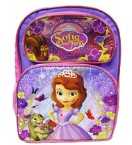 "Backpack Sofia The First Lovely Roses Pink 16"" 009942"