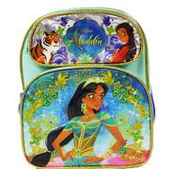 "Small Backpack Disney Princess Jasmine Magic Lamp 12"" 009904"