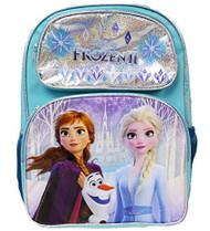 """Backpack Frozen 2 Ice Memory Light Blue 16"""" 008372"""