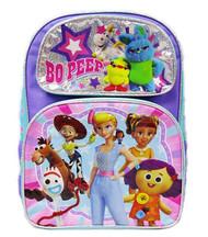 """Backpack Toy Story 4 Bo Peep Purple 16"""" 010108"""