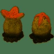 Salt & Pepper Shakers Alien Xenomorph Egg  ALNL685