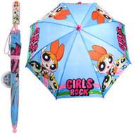 Umbrella Power Puff Girls Rock w/Clamshell Handle PGR69415ST