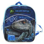 "Mini Backpack Jurassic World Blue 11"" JUMIN"