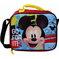 Lunch Bag Mickey Mouse Go For It Blue MKALU