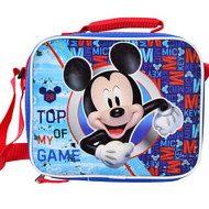 Lunch Bag Mickey Mouse Top of My Game Blue ICGLB