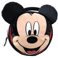 Lunch Bag Mickey Mouse Shiny PVC Round Ears & Bow RKLU