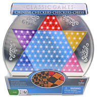 Game Chinese Checker Metal Board 177