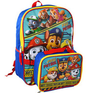 Backpack Paw Patrol Pups On Duty w/Lunch Bag B20PP46570