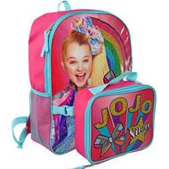 "Backpack Jojo Siwa Rainbow 16"" w/Lunch Bag B20JO46556"