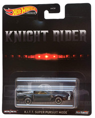 Toys Hot Wheels Knight Rider K.I.T.T Super Pursuit Mode Premium 816334
