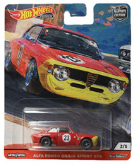 Toys Hot Wheels Alfa Romeo Giulia Sprint GTA 2/5 Red 815894
