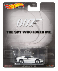 Toys Hot Wheels 007 The Spy Who Loved Me Lotus Esprit S1 White 816419