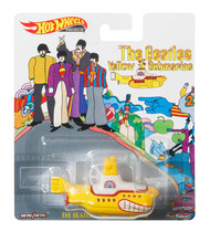 Toys Hot Wheels Beatles Yellow Submarine Vehicle 708073