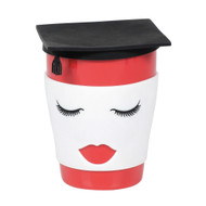 Mug Our Name is Mud Graduation Female Travel Cup w/Lid 6006408