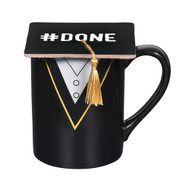 Mug Our Name is Mud Graduation Robe Cup w/Coaster 6006403